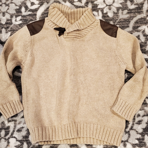 Cherokee Toddler Boy/'s Red Velvet Sweater Size 4T